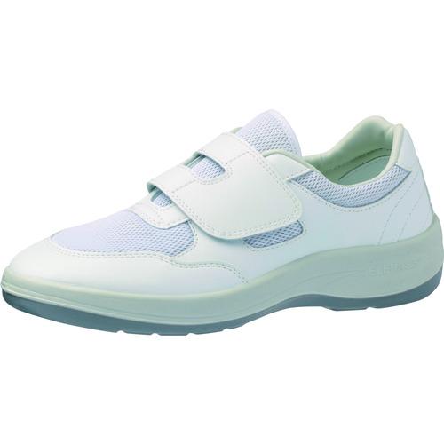 ミドリ安全 男女兼用 静電作業靴 エレパス NU403 ホワイト 22.5cm NU403-22.5