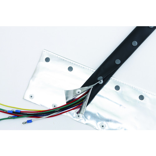見事な 店 【直送】【】ZTJ OLBF 070:工具屋のプロ 電磁波シールドチューブ(ホックタイプ)-木材・建築資材・設備