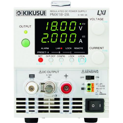 菊水電子 コンパクト直流安定化電源 PMXーAシリーズ PMX18-2A