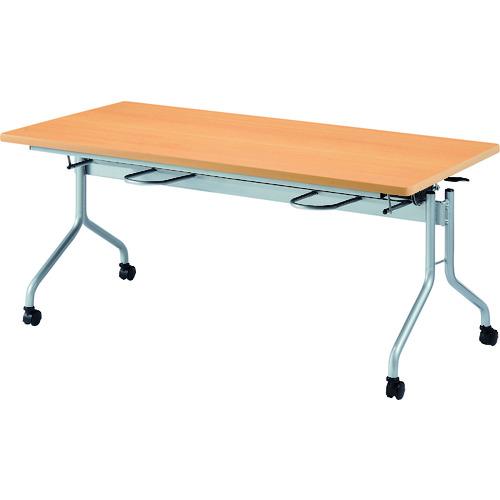 【直送】【代引不可】ニシキ工業 食堂テーブル 4人掛 メープル RFH-1575-MP