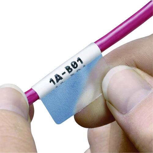 パンドウイット レーザープリンタ用セルフラミネートラベル ポリエステル 白 印字部縦25.4mmx横25.4mm 1000枚入り S100X400YAJ