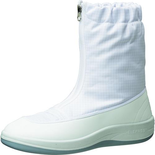 ミドリ安全 クリーン静電靴 ハーフフード ファスナー式 SU551 28.0CM SU551-28.0