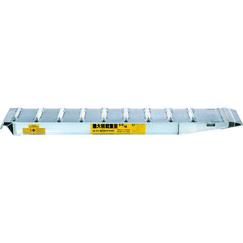 【直送】【代引不可】昭和機械工業 SXN型アルミブリッジ2個1組 SXN-220-24-4.0A