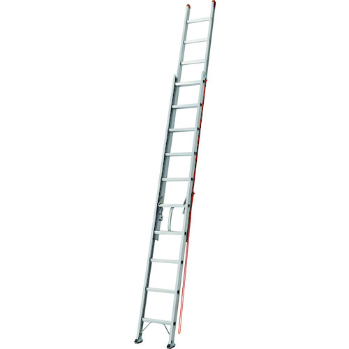 【直送】【代引不可】TRUSCO(トラスコ) Pro2連はしご 7.2m TDL-2-72