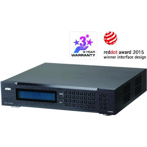 【直送】【代引不可】ATEN(エイテン) 16入力16出力HDMIマトリックススイッチャー(スケーラー搭載、ビデオウォール対応) VM51616H