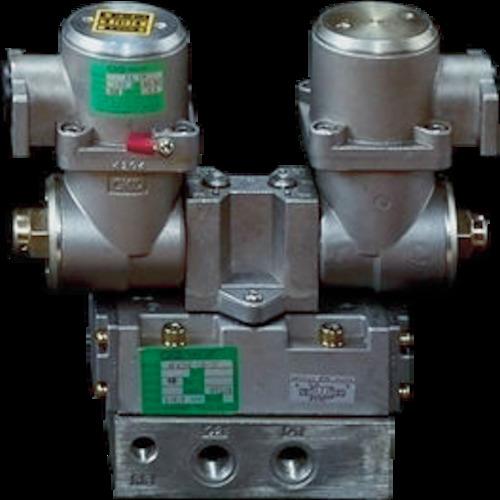CKD パイロット式防爆形5ポートバルブ ダブルソレノイド 4F520E-10-TP-AC100V