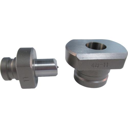 DIAMOND(IKK) パンチャー用替刃 長穴ポンチ 11X16.5mm 4P1128