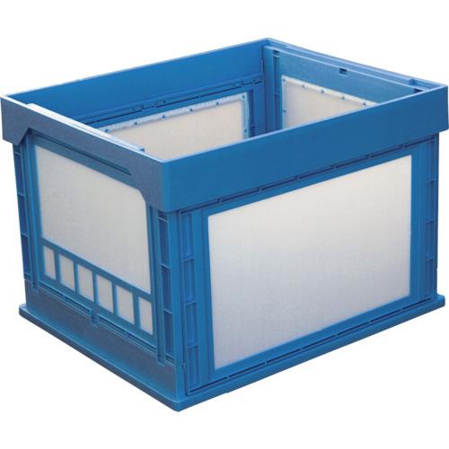 KUNIMORI(国盛化学) プラスチック折畳みコンテナ パタコン N-107 ブルー 50190-N107-B