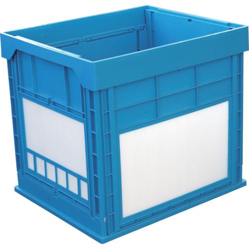 KUNIMORI(国盛化学) プラスチック折畳みコンテナ パタコン N-134 ブルー 50680-N134-B
