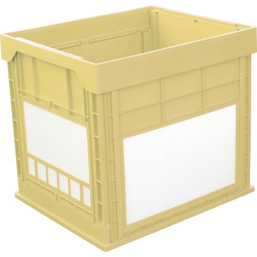 KUNIMORI(国盛化学) プラスチック折畳みコンテナ パタコン N-134 イエロー 50681-N134-YE