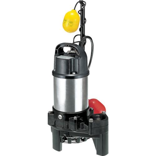 ツルミ(鶴見製作所) 樹脂製雑排水用水中ハイスピンポンプ 自動 80L/min 全揚程10.0m 60Hz 100V 50PNA2.4S 60HZ