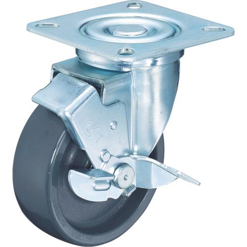 ハンマーキャスター 多機能キャスター(特殊樹脂車輪) 150mm 513YS-HBN150-BAR01