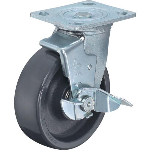 ハンマーキャスター 多機能キャスター(特殊樹脂車輪) 150mm 519BPS-HBN150-BAR01