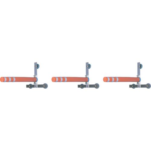 【直送】【代引不可】つくし 重機接触防止装置 エスカルバー 3台セット 5458