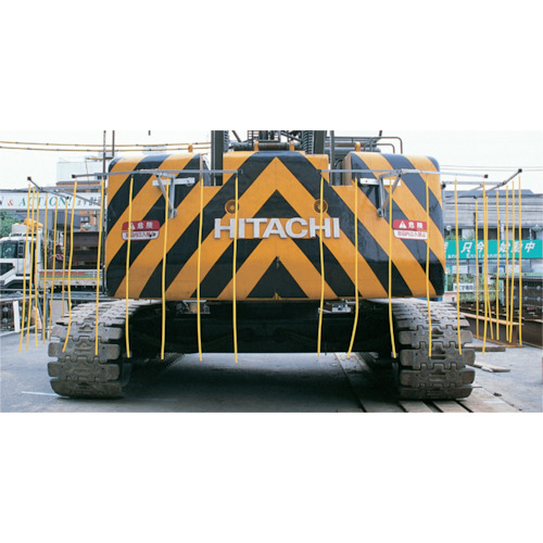 【直送】【代引不可】つくし 重機接触防止装置 セーフティーブラボー 4台セット 5459