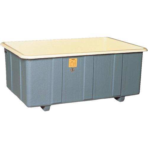 【直送】【代引不可】立花容器 FRP角タンク 非段積用 510L 550-G