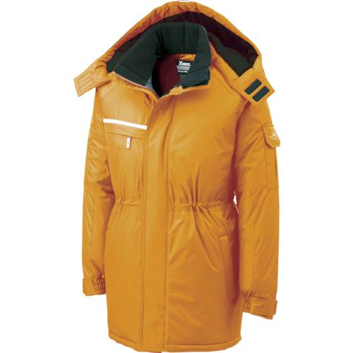 ジーベック 581581防水防寒コート オレンジ L 581-82-L