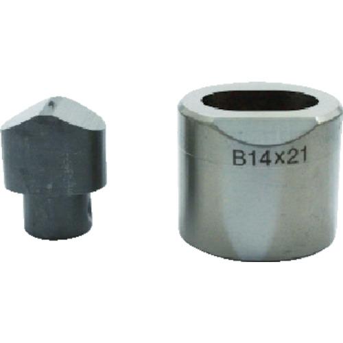 育良精機 フリーパンチャー替刃 IS-BP18S・IS-MP18LE用 長穴6.5X10mm 6.5X10B