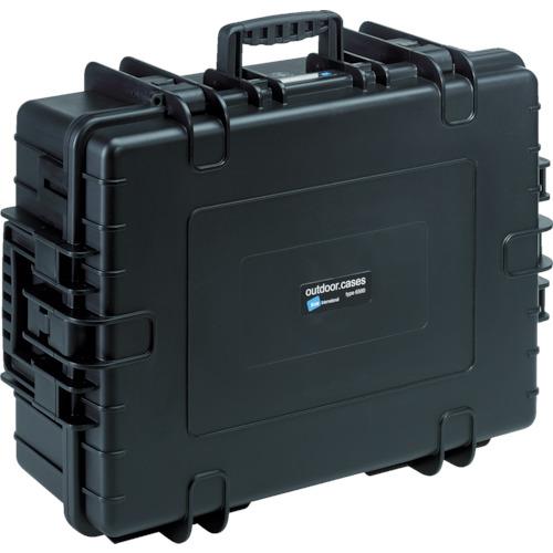B&W プロテクタケース 6000 黒 フォームあり 3個 6000/B/SI