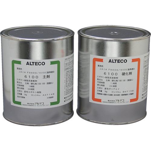 ALTECO(アルテコ) エポキシ接着剤 6100 2kgセット 5組 6100-2KG