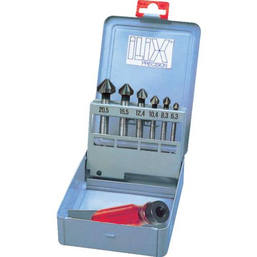 ILIX(ムラキ) カウンターシンクセット DLCコート 6本組 6277-SDC