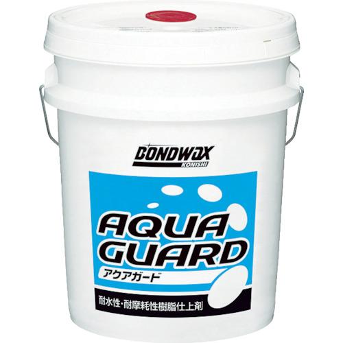 【直送】【代引不可】コニシ 耐水性樹脂ワックス アクアガード 18L 05124