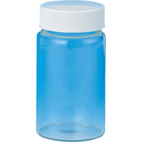 TGK(東京硝子器械) ねじ口管瓶 白 50ml 50本入 717040509