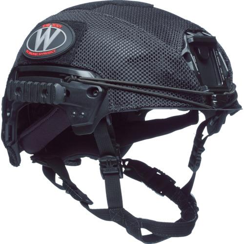 TEAMWENDY EXFIL LTP/カーボン用 メッシュヘルメットカバー ブラック 71-MHC-BK