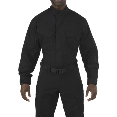 5.11 ストライク TDU LSシャツ ブラック L 72416-019-L