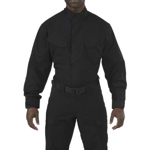5.11 ストライク TDU LSシャツ ブラック M 72416-019-M