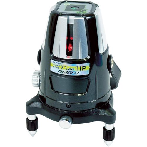 シンワ測定 レーザーロボ Neo11P BRIGHT 縦・天墨・地墨 77389