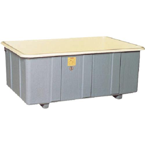 【直送】【代引不可】立花容器 FRP角タンク 非段積用 710L 800-G