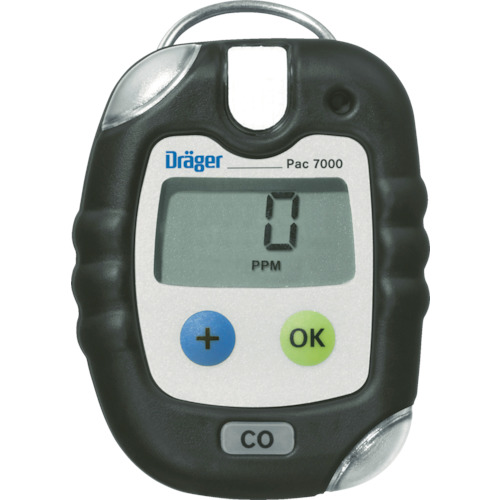 Drager(ドレーゲル) 単成分ガス検知警報器 パック7000 塩素(測定対象ガス:フッ素) 8318978-04