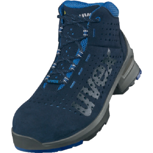 UVEX ブーツ ネイビー 26.0cm 8532.4-41