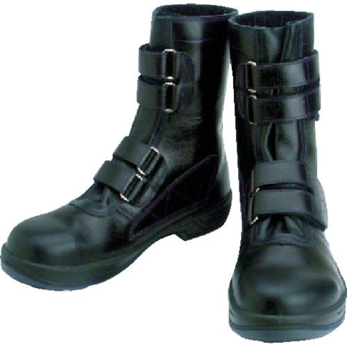 シモン(Simon) 安全靴 マジック式 8538黒 24.5cm 8538N-24.5