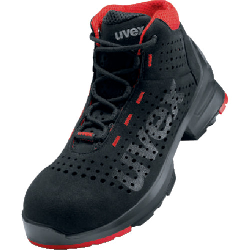 UVEX ブーツ ブラック 25.5cm 8547.5-40