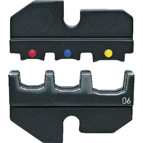 【セール期間中ポイント2~5倍!】KNIPEX(クニペックス) 9743-200用圧着ダイス 裸端子・buttコネクター用 9749-06