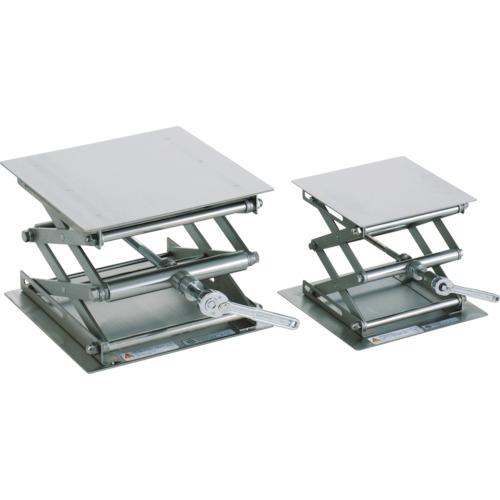 テラオカ ラボジャッキ ラチェットハンドル式ステンレスタイプ 200X200X80~300 99-1620-42