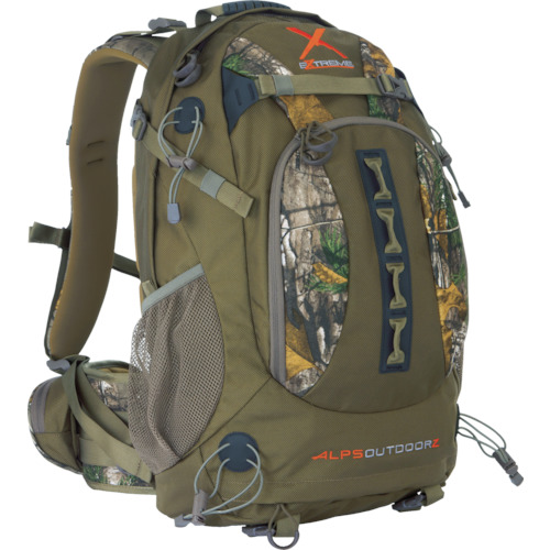 ALPS OutdoorZ バックパック パースートX エクストラ/ブラウン 9972100