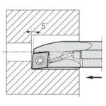 京セラ 内径加工用ホルダ A10L-SCLCR06-12AE