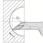 京セラ 内径加工用ホルダ A12M-SVJCL08-16AE