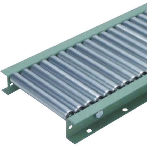 【直送】【代引不可】太陽工業 A2812型スチールローラコンベヤ W500XP40X90゚カーブ A2812-500-40-90R