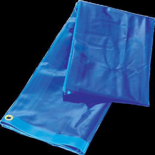 TRUSCO(トラスコ) 溶接遮光シートのみ ブルー W1970XH1970 A-3-B