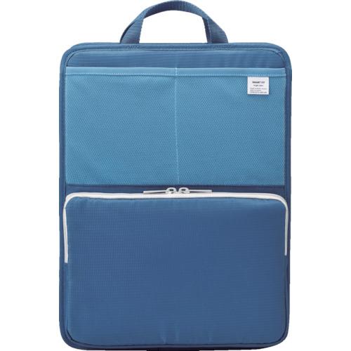 LIHIT(リヒト) A4スタンドポケット(タテ型) ブルー 8個 A7668-8