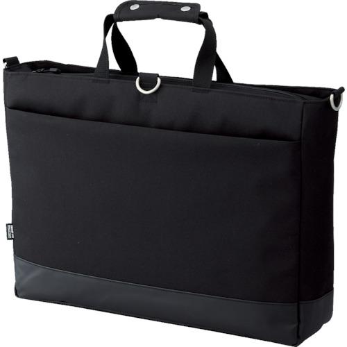 LIHIT(リヒト) キャリングバッグ(ヨコ型Lサイズ) ブラック 6個 A7671-24