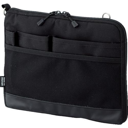 LIHIT(リヒト) A5バッグインバッグ(ヨコ型) ブラック 20個 A7680-24