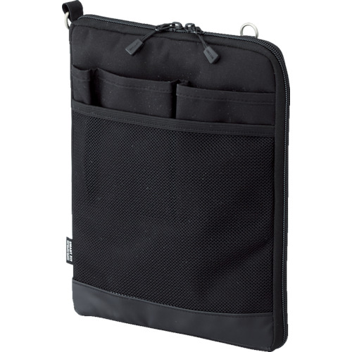 LIHIT(リヒト) A5バッグインバッグ(タテ型) ブラック 20個 A7682-24