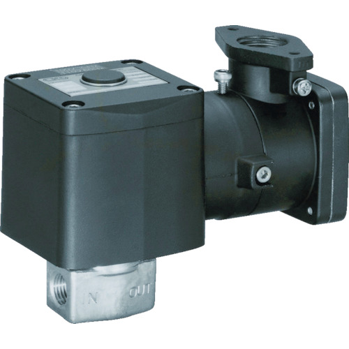 CKD 直動式防爆形2ポート弁 空気・水用 AB41E4-03-7-03T-AC200V