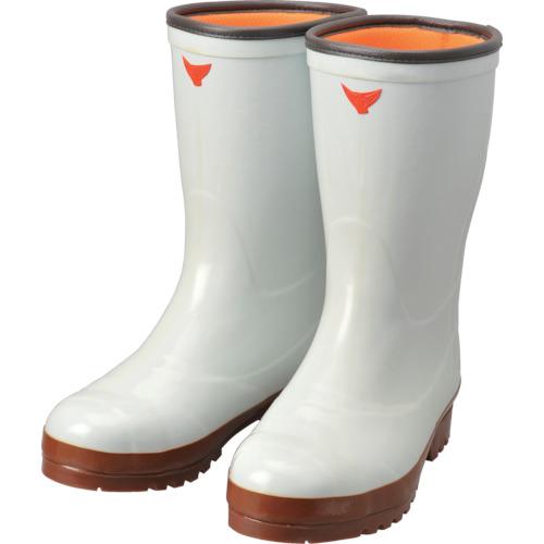 シバタ工業 安全防寒スーパークリーン長7型(白) 25.0cm AC040-25.0