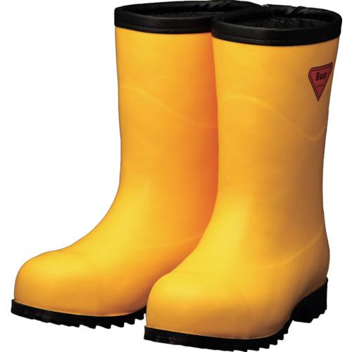 シバタ工業 防寒安全長靴 セーフティベアー#1011白熊 イエロー フード無し 27.0cm AC101-27.0